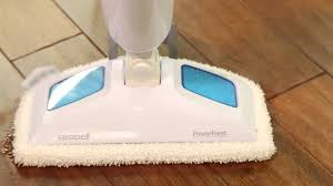 Steam Mopping Laminate Floors Bissell 1940 Powerfresh Steam Mop Hard Floor Steam Cleaner