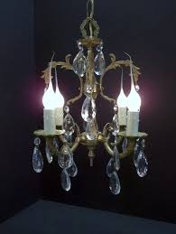 Vintage Antique Chandeliers Antique Chandelier Made In Spain Thesecretconsul Pertaining To