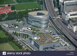mercedes benz museum stuttgart aerial view mercedes benz museum stuttgart baden wuerttemberg