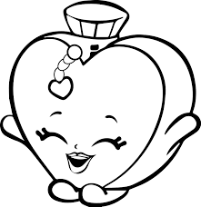 shopkins parfume happy coloring page wecoloringpage