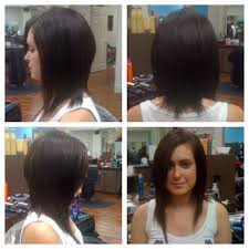 textured angled asymmetrical bob haircut lex moore style house