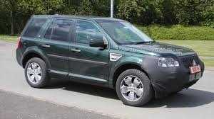 land rover 2007 black land rover freelander facelift spied for first time