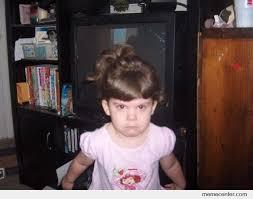 Angry Girl Meme - little angry girl by ben meme center