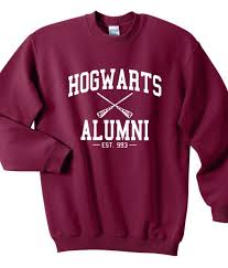 harry potter alumni shirt hogwarts alumni harry potter sweatshirts sweater for unisex