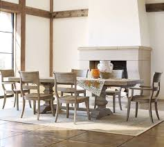 Bradford Dining Room Furniture Collection Banks Extending Dining Table Grey Wash Pottery Barn