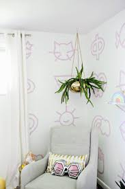 temporary wallpaper painted nursery wallpaper diy u2013 a beautiful mess