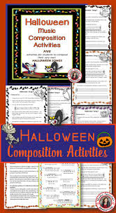 songs for halloween music composition activities for halloween