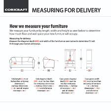 coricraft coriguides measuring for furniture delivery made for