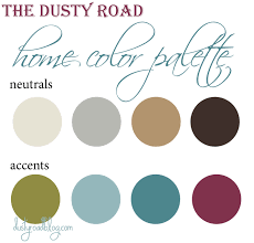 color palettes for home home design