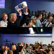 Paper Throwing Meme - trump throws paper towels at puerto ricans in attempt to rebuild