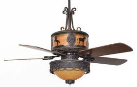 Western Ceiling Fans With Lights Horses Western Ceiling Fan With Light Kit Free Shipping