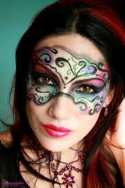 halloween makeup masks 142 best masquerade images on pinterest character inspiration