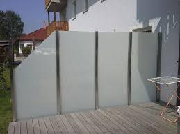 windschutz fã r balkone chestha glas balkon design