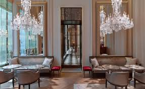debut hotel of french crystal co baccarat dazzles swipelife