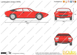 lamborghini urraco the blueprints com vector drawing lamborghini urraco