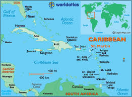 map of st martin martin map geography of martin map of martin