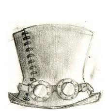 sketches for steampunk hat sketches www sketchesxo com