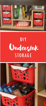 Kitchen Pan Storage Ideas by Best 20 Under Sink Storage Ideas On Pinterest Bathroom Sink
