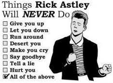Rick Rolled Meme - the fax machine that got rick rolled