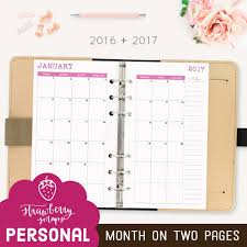 monthly calendar planner template 2016 2017 monthly planner college printable planner inserts zoom