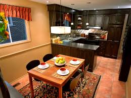 dining kitchen design ideas kitchen layout templates 6 different designs hgtv