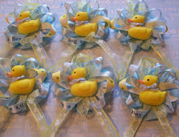 duck themed baby shower rubber duckies baby shower guest corsage its a