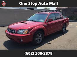 subaru baja 2005 used subaru baja 2005 subaru baja turbo automatic w leather