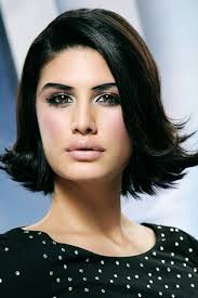 shoulder length hair with layers at bottom sexy chin length black bob with layers hair style blog ii