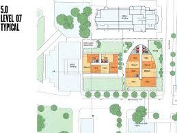 Sydney Entertainment Centre Floor Plan Proposed Chatswood 65 Albert Ave Mandarin Centre 37st 126m