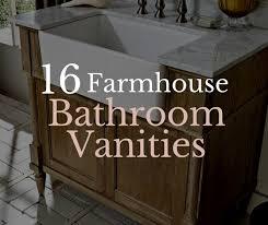 Bathroom Single Sink Vanity by 16 Farmhouse Style Single Sink Vanities Twelve On Main