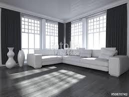 schwarz weiß wohnzimmer wohndesign wohnzimmer in schwarz weiß stockfotos und