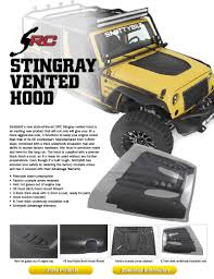 Smittybuilt Roof Rack by Stingray Hood Smittybilt