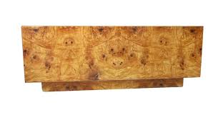 burl wood coffee table 1960 s burl wood square coffee table by milo baughman at 1stdibs