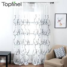 Kitchen Sheer Curtains by Patterned Sheer Curtains U2013 Teawing Co