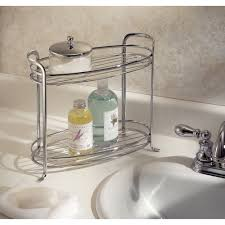 Bathroom Accessories Walmart by Interdesign Axis Free Standing Bathroom Storage Shelves For Towels