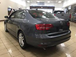 gray volkswagen jetta used 2015 volkswagen jetta highline black leather interior 4 door