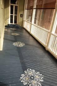 best 25 stenciled floor ideas on pinterest painting tile