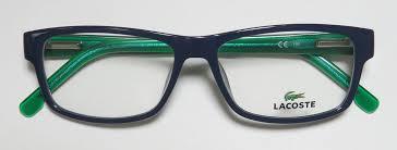 lacoste bureau 302 found lacoste lacoste 2707 brand name trendy plastic arms eyeglass frame