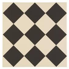 harlequin large black ceramic tile