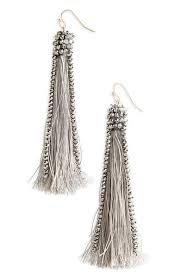Miguel Ases Earrings Polyvore The 25 Best Beaded Tassel Earrings Ideas On Pinterest Fringe