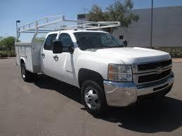 used 2008 chevrolet silverado 3500hd service utility truck for