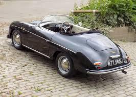 classic chrome porsche 356 speedster replica 1972 l black