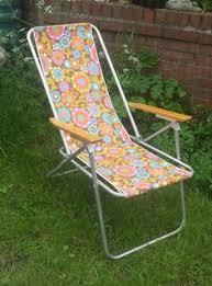 1960s Patio Furniture Vintage Retro Sun Lounger Deckchair Garden Recliner Chair Vw