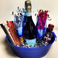 Christmas Hostess Gifts New Year U0027s Eve Basket I Created This As A Hostess Gift