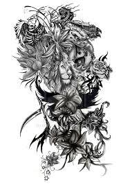 a little edgy but still feminine tattoos that i love