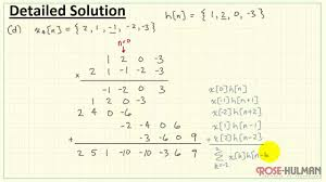 convolution example 1 youtube