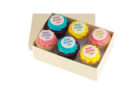 personalised cupcakes for some lucky work colleagues x personalised cupcakes message cupcakes printed cupcakes