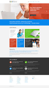 website template 51277 software custom custom website template