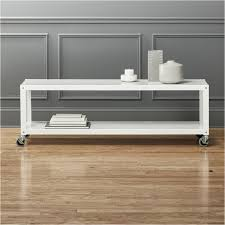 Rolling Coffee Table Go Cart White Rolling Tv Stand Coffee Table Modern Coffee Tables