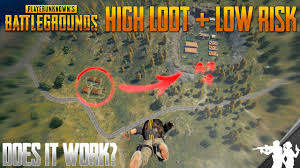 pubg strategy does the new high loot low risk strategy really work in pubg